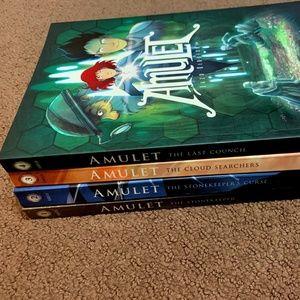 Scholastic Children's Amulet Books Bundle